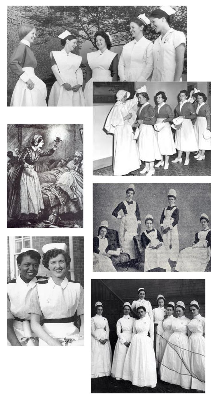 nursing uniform origin