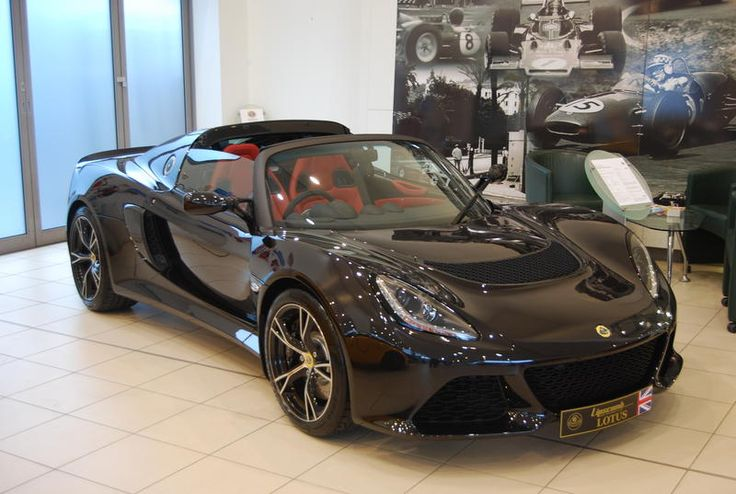 Exige S Roadster - starlight black with premium quilted venom red interior