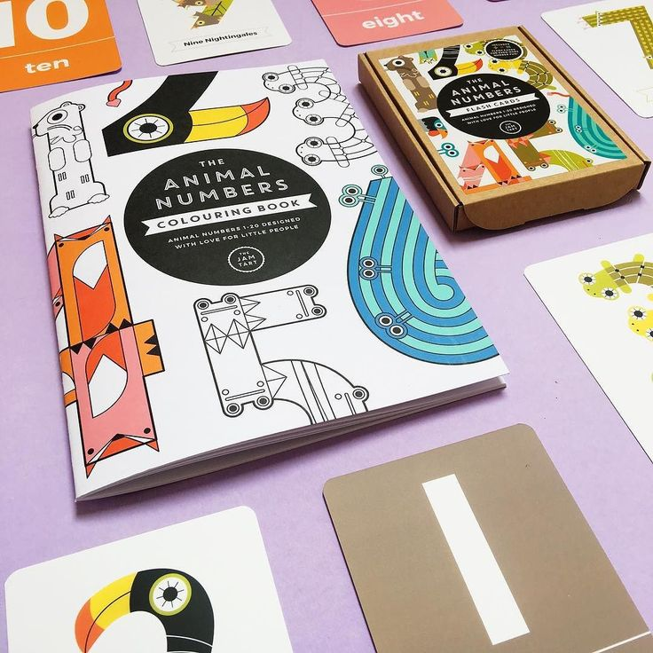 LEARN NUMBERSNEW! number colouring books to reinforce number learning #learningthroughplay #numberfun #learningcanbefun . . . . #the_jam_tart #typography #number #numbers #learn #education #play #fun #animals #1234678910