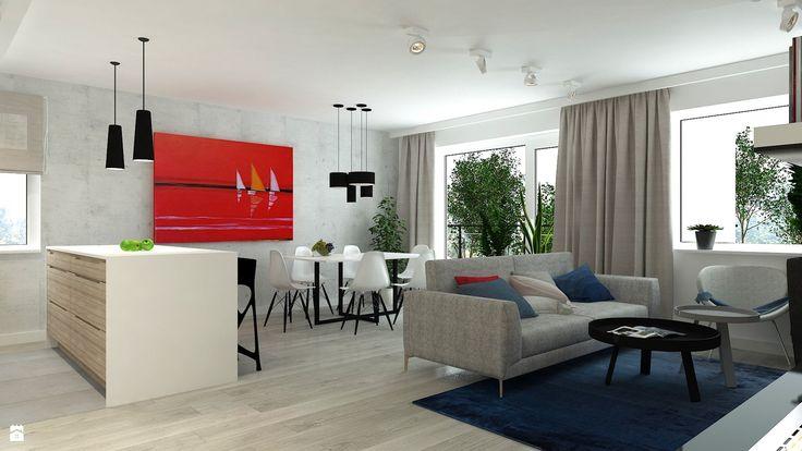 Salon styl Minimalistyczny - zdjęcie od ZEN Interiors - Salon - Styl Minimalistyczny - ZEN Interiors