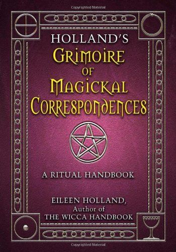 232 best magical books magazines etc images on pinterest hollands grimoire of magickal correspondence a ritual handbook fandeluxe Image collections