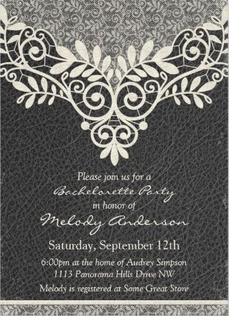 32 best Bachelorette Party Invitations images on Pinterest - bachelorette invitation template