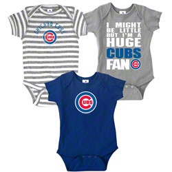 Chicago Cubs Infant Baby Rib Creeper 3-Pack $25.99 http://www.fansedge.com/Chicago-Cubs-Infant-Baby-Rib-Creeper-3-Pack-_213399017_PD.html?social=pinterest_pfid66-41690
