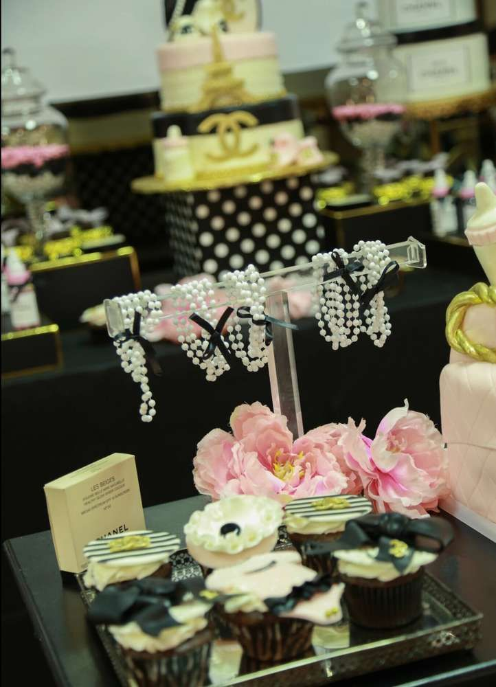 Coco Chanel Baby Shower Party Ideas 151