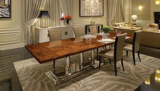 94 best Messing Esstische Ideen images on Pinterest | Dining room ...