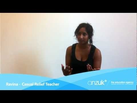 Melbourne girl Ravina has found a steady stream of Supply Teaching work through teaching agency anzuk*. She talks about this in her testimonial and of how she contacted anzuk*: http://www.anzukteachers.com.au/teacher-testimonial-ravina-supply-teaching-australia #newteacher #classroom #education #teaching