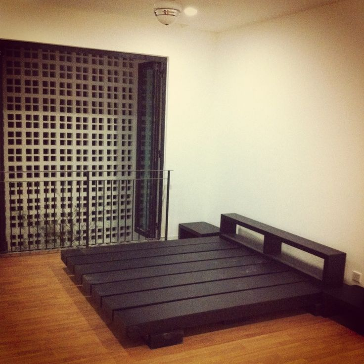25 best ideas about japanese bed on pinterest sunken bed simple bed designs and furniture - Cool diy bed frames ...