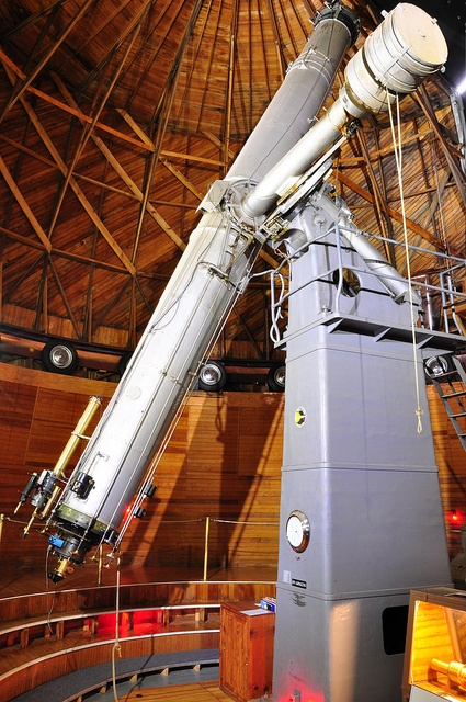 "24"" Clark Telescope, Lowell Observatory by ArizonaBorealis, via Flickr"