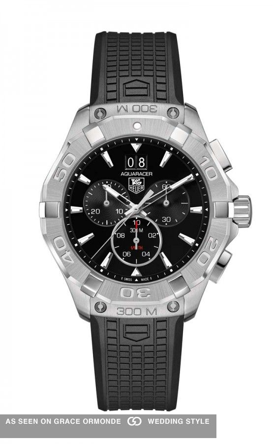 tag heuer men's designer watch