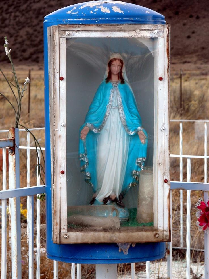 Out door shrine Las Mesitas Colorado