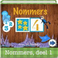 Afrikaanse Applikasies vir Kleuters: Nommers, 1 tot 10 ('n Goeie begin om syfers 1-10 en kleure te onthou)