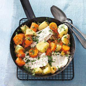 Recept - Aardappel-wortelstoof