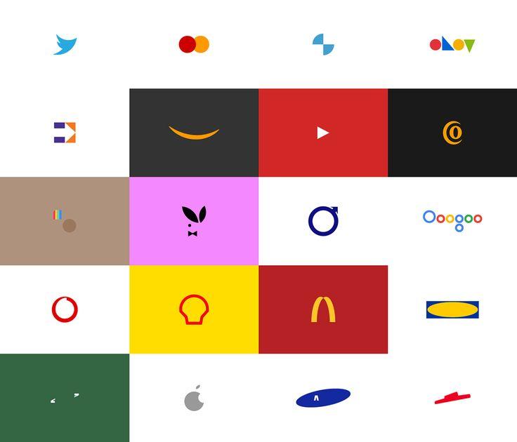 قوة العلامة التجارية ، هوية بصرية