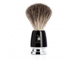 Brocha de afeitar Muhle Rytmo T resina negra
