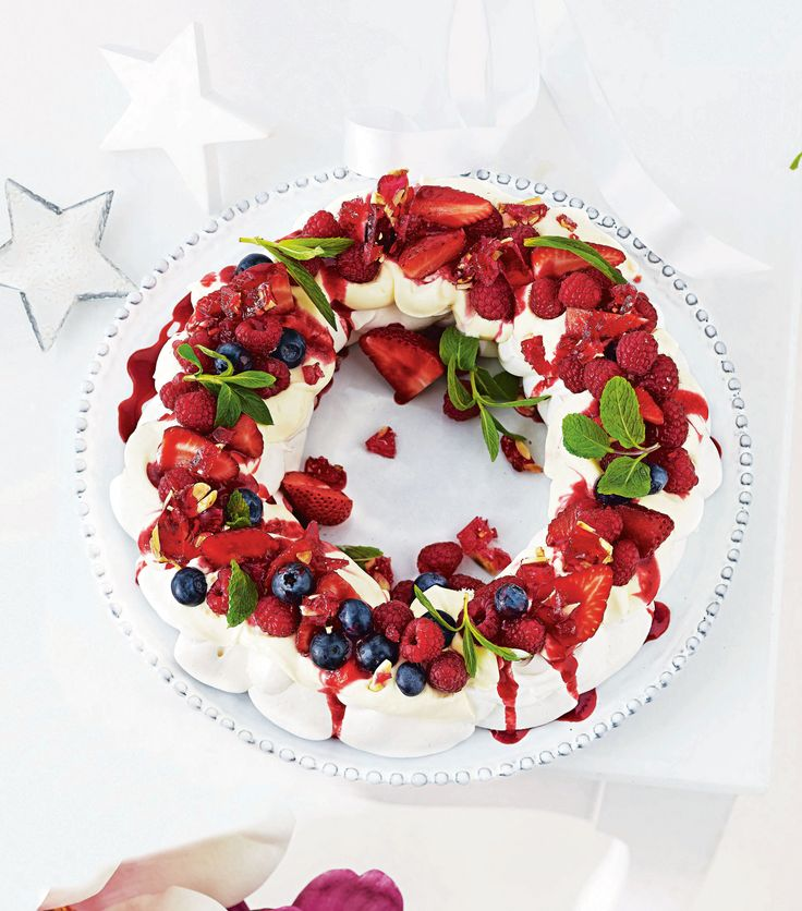 Mary Berry Christmas Pavlova Pear Home And Moven
