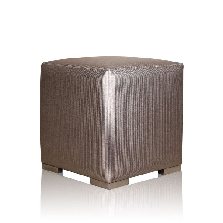 Tiana Beige Pouffe - Uplift your bravura with this pleasingly designed TIANA BEIGE POUFFE to win oodles of admirable glances from your guests. Designed with an inspiration from the richness of silver, this remarkable pouffe offers both elegance and comfort.#INVHome #LuxuryHomeDecor #InteriorDesign #RoomDecor #Decorations #Decor #INVHomeLinen #Tableware #Spa #Gifts #Furniture #LuxuryHomes #Furniture #Stools