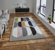 Think Inaluxe Composition IX06 Multicoloured Rug