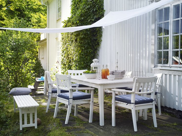 171 best buiten images on pinterest balcony ikea and balconies - Outdoor tuin decoratie ideeen ...