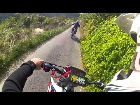 Petite ballade dans les chemins ~ Gopro hd2 ~ Derbi drd racing - YouTube