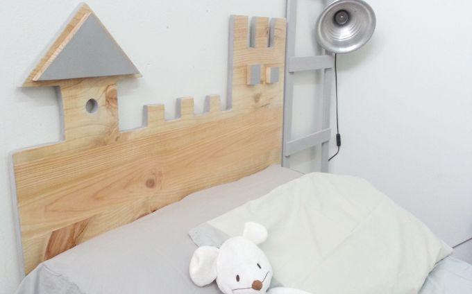 17 mejores ideas sobre cabeceros infantiles en pinterest - Cabecero cama infantil ...
