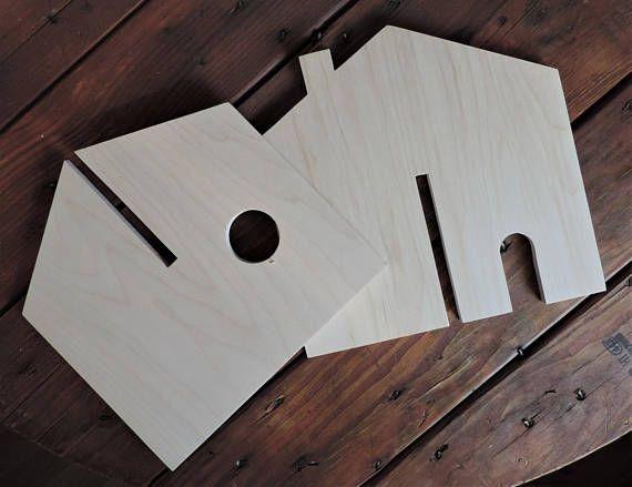 MADE TO ORDER Handmade wooden cottage dollhouseMontessori