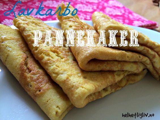 """Minstemannen min elsker pannekaker. Første gangen jeg laget disse var jeg litt spent på om han skulle protestere fordi de er litt mer """"..."""