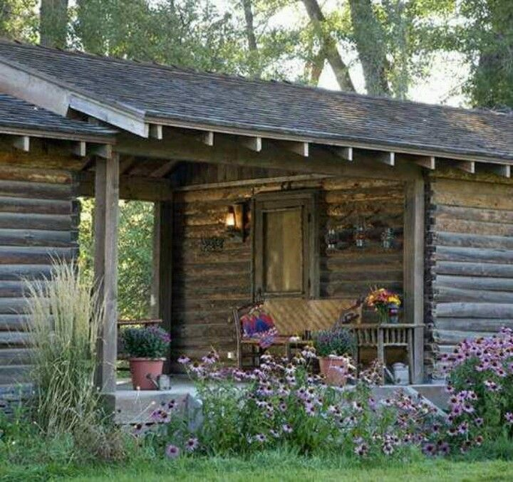 log cabin breeze way log homes pinterest beautiful