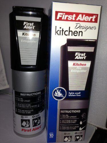 First Alert Designer Kitchen Fire Extinguisher