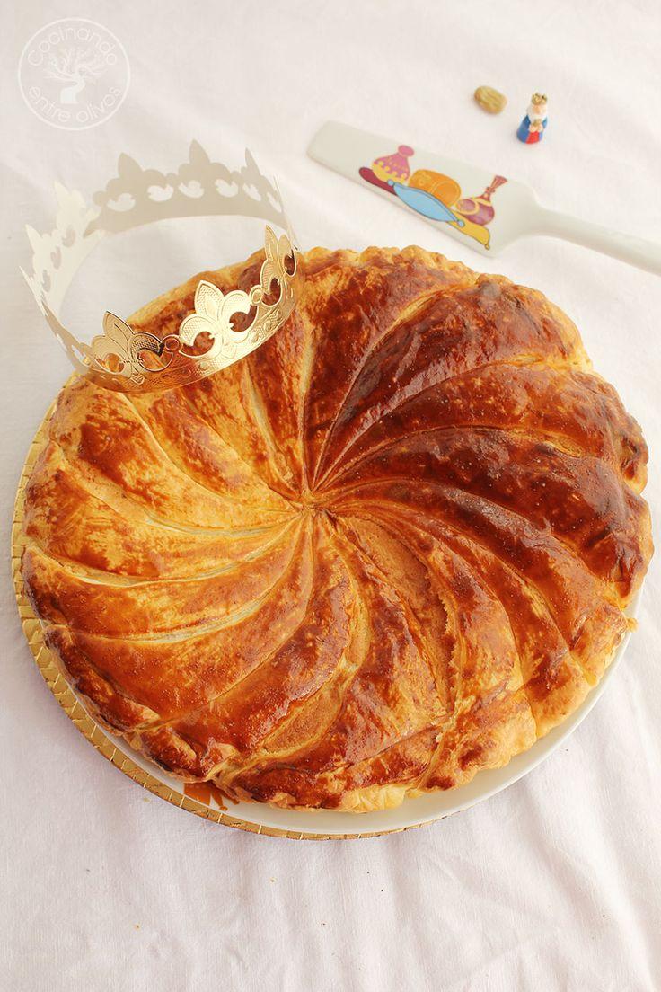 Galette des Rois o Pastel de Reyes francés
