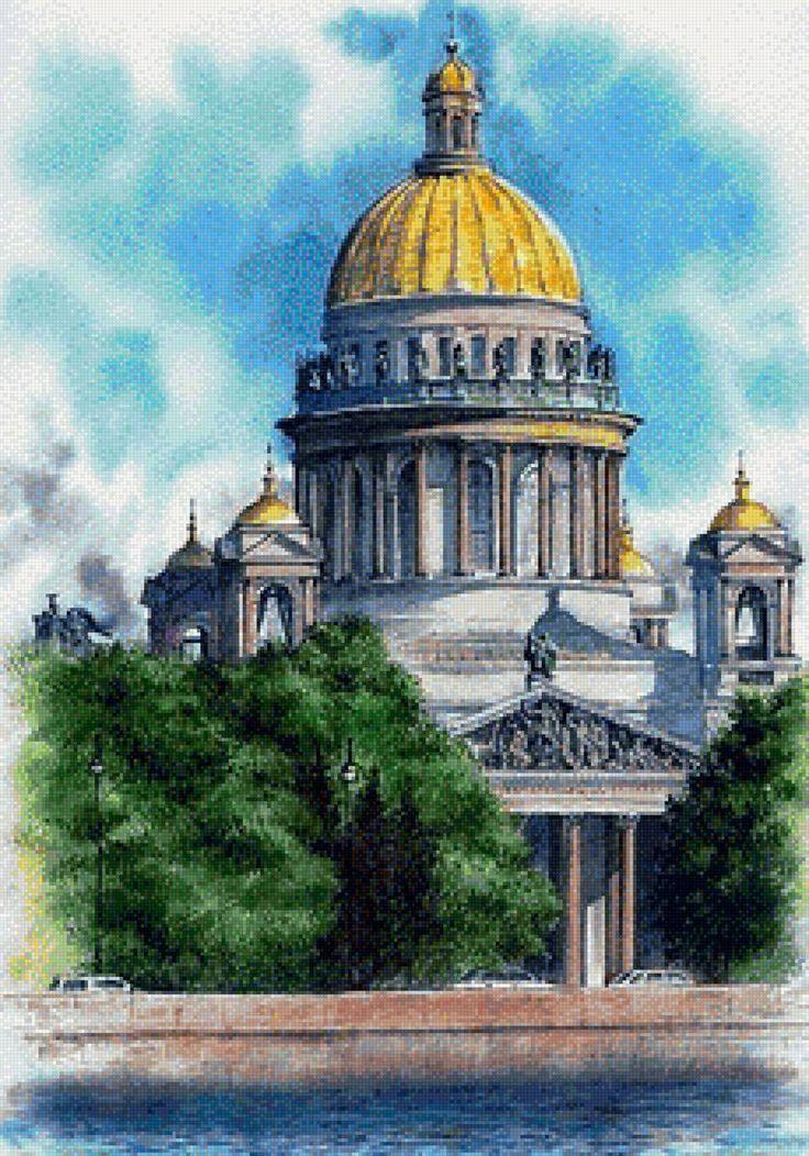 Открытки исаакиевский собор