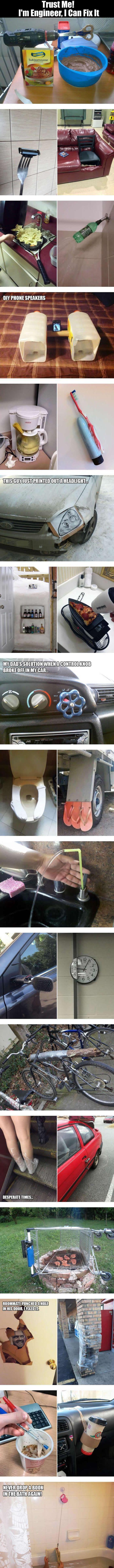 trust me, i am an engineer