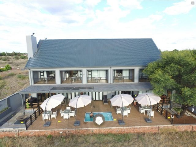 Game View Lodge is an up-market lodge situated in the town of Vryburg (North-West Province) next to the Leon Taljaard Game Reserve. Whilst enjoying a sundowner on their deck you will be able to view game which includes 2 of the Big 5 and the most beautiful sunsets.