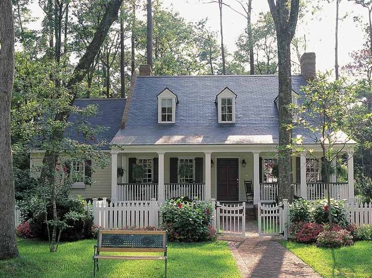 Farmhouse house plan with 2686 square feet and 3 bedrooms for Low country house plans with porches