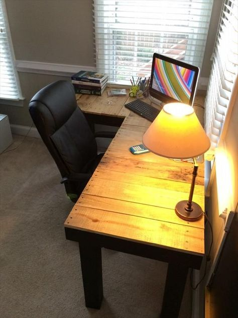 Free Diy L Shaped Desk Plans