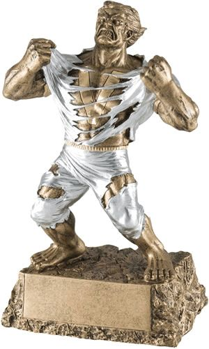 Monster Victory Resin Trophy