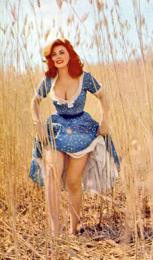 Tina Louise in Playboy, 1959  wow... gillian's island Tina!