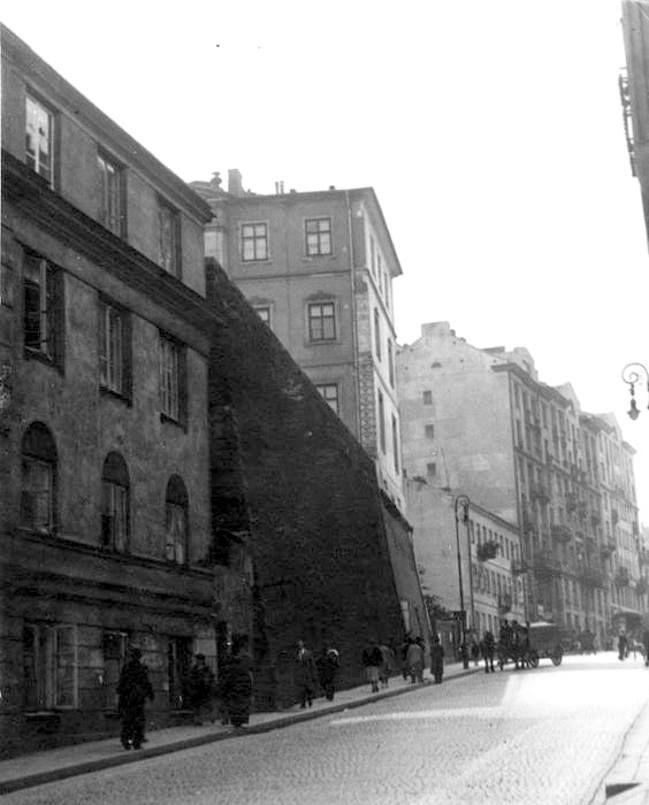 Warszawa - ulica Tamka (lata 30-te). fot. II Reczpospolita