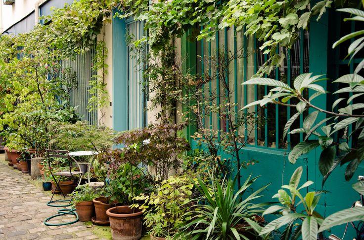 la rue Oberkampf  La Cité du Figuier  104-106 rue Oberkampf  75011 Paris