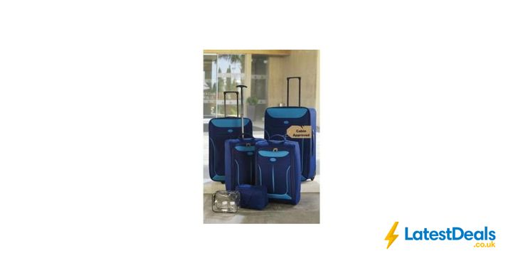 6 Piece Luggage Set Various Colours, £34.99 at Studio