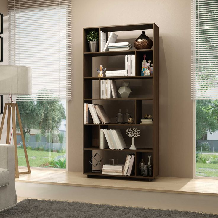 Manhattan Comfort Maringa Bookcase