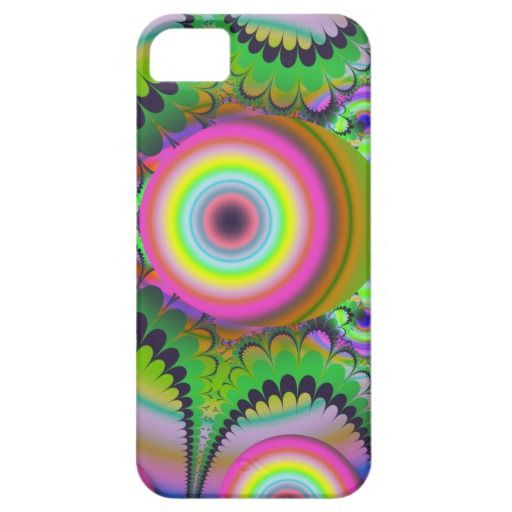 Funky Circles Hypnotic Abstract iPhone 5/5S Case