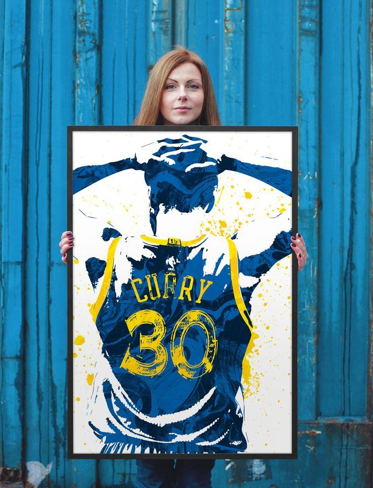 Stephen Curry Golden State Warriors Poster