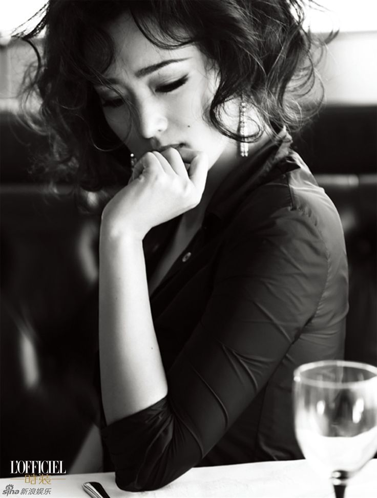 Gong Li for L'Officiel