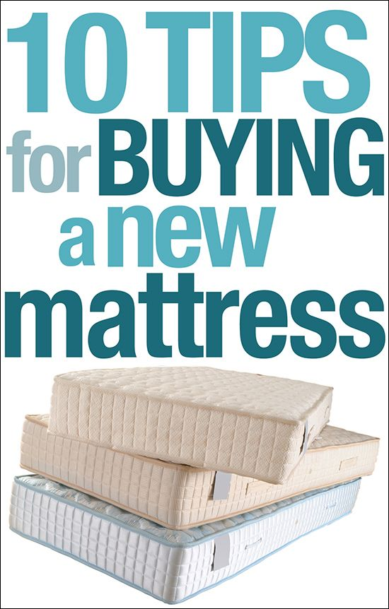 10 tips for buying a new mattress!
