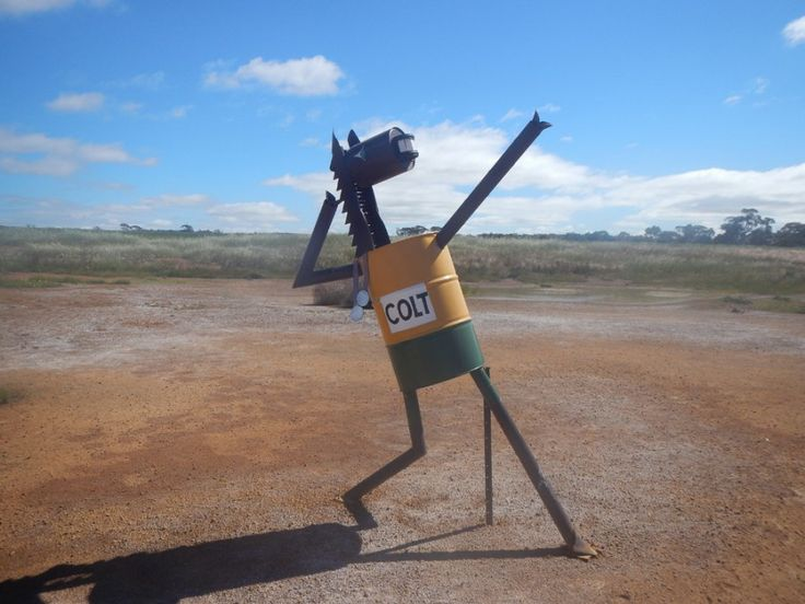 Usain Colt on the Tin Horse Highway