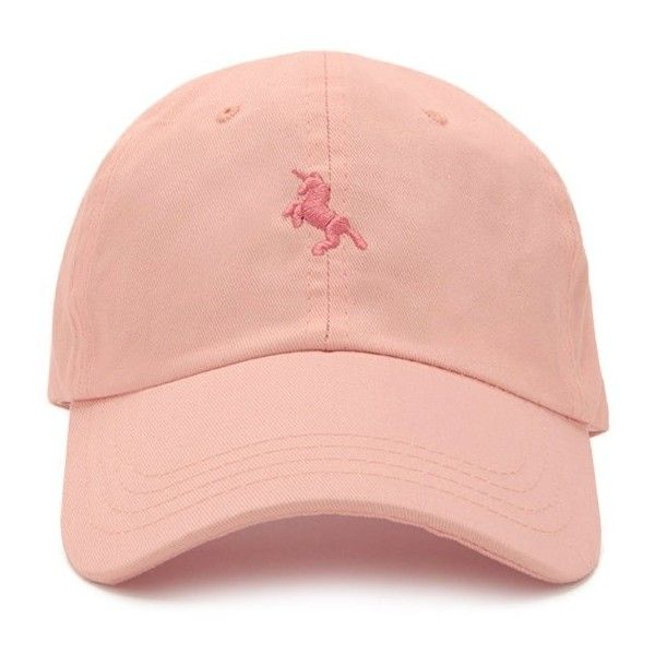 Forever21 Unicorn Baseball Cap ($9.90) ❤ liked on Polyvore featuring accessories, hats, cotton baseball hats, embroidered baseball caps, ball cap, embroidered baseball hats and forever 21