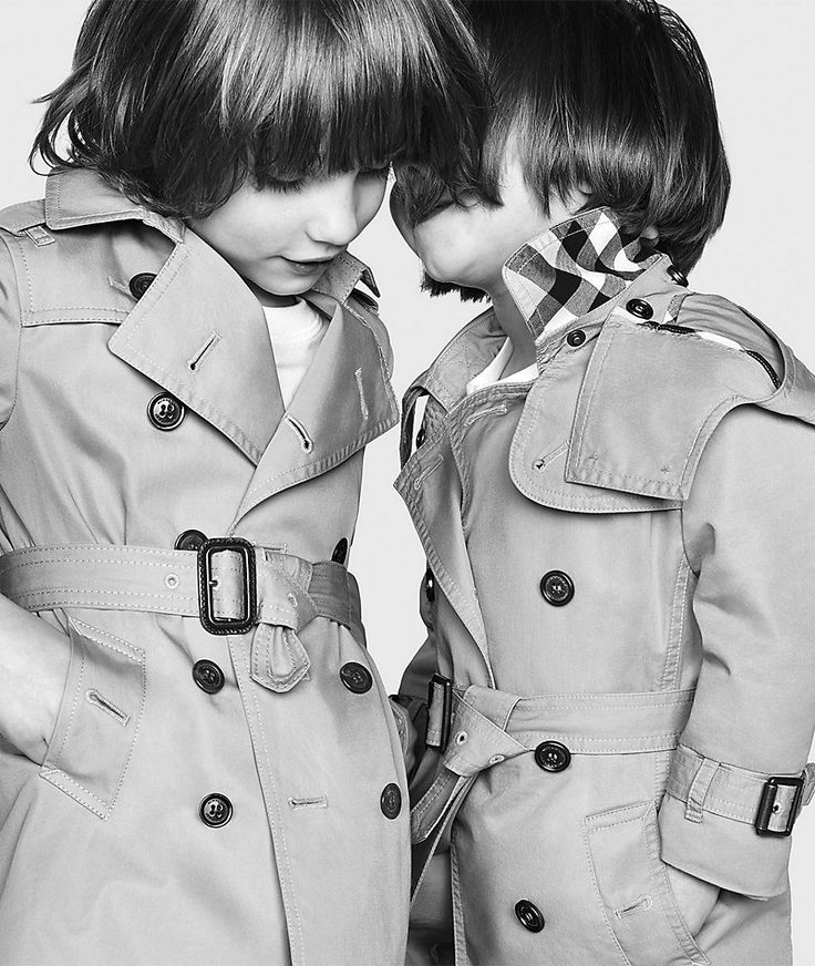 Burberry FW13 CHILDREN'S TRENCH COATS