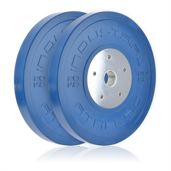 0KG Elite Bumper Plate - Pair Weightlifting and Power lifting.  Big weights, fast lifts, max efforts.  These are serious weightlifting plates.  Elite Bumper plates are extremely low profile, allowing you to have high speed and low drag.  They sit flush on good barbells, and give you the ultimate in control - maximising your return.  Olympic Weightlifting clubs, big lifter, Power Lifting Gyms, and Competitive weightlifters will all benefit from the Elite weightlifting range