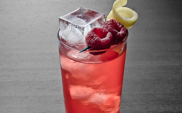 Raspberry Collins Cocktail: Sip on this Summery Tequila Drink