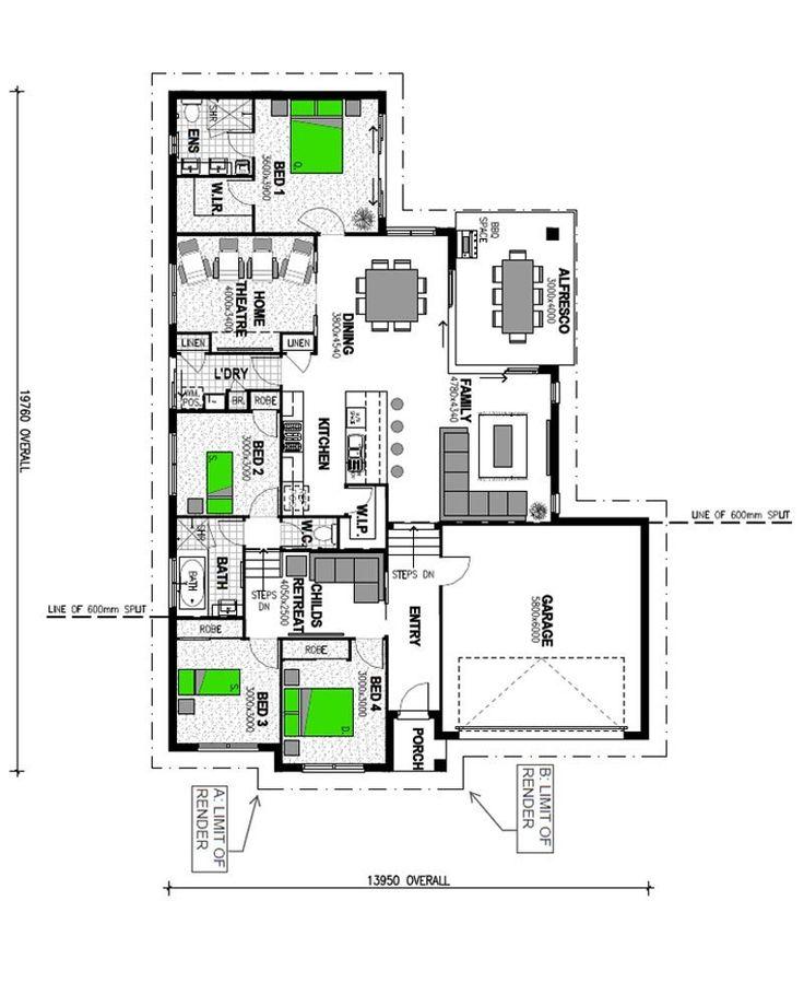 Design This Home Level Cheats: Best 25+ Split Level House Plans Ideas On Pinterest